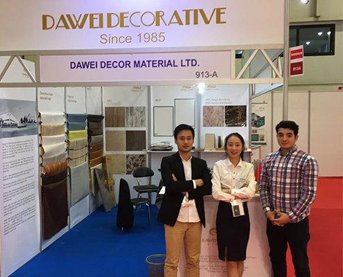 Dawei sales at InterMobWood exhibition