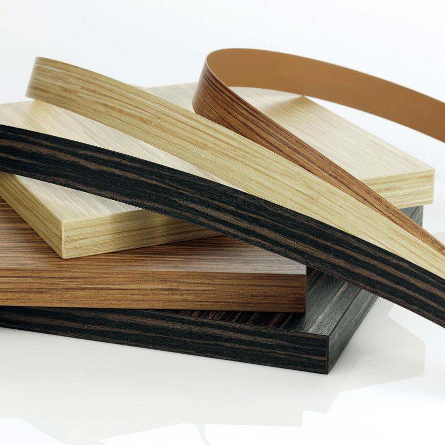 wood grain embossed pvc edge banding