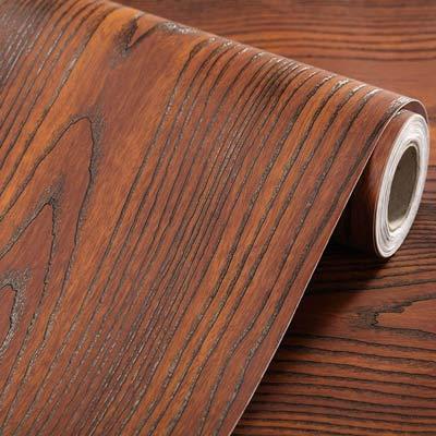30cm 100cm Rosewood-font-b-Grain b font SelfAdhesive Wardrobe-furniture-Vinyl Decorative ont-b Film
