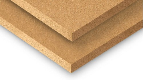 particle board before sticking furniture paper