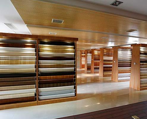 decorative paper showroom