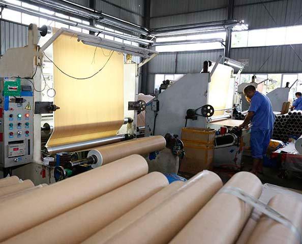 finish foil paper production