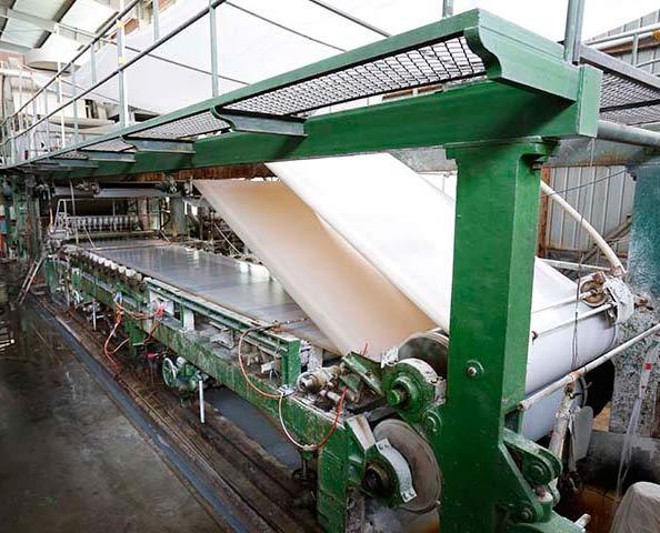 foil finish furniture paper production line
