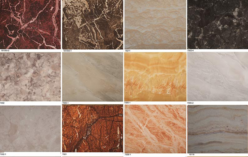 marble decorative paper for household