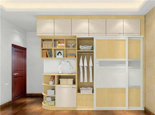 melamine paper board wardrobe