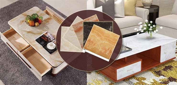 marble furniture foil laminate paper
