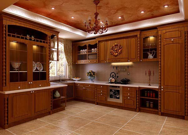 solid wood grain cabinet