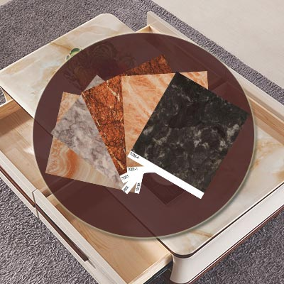factory price marble melamine laminate paper